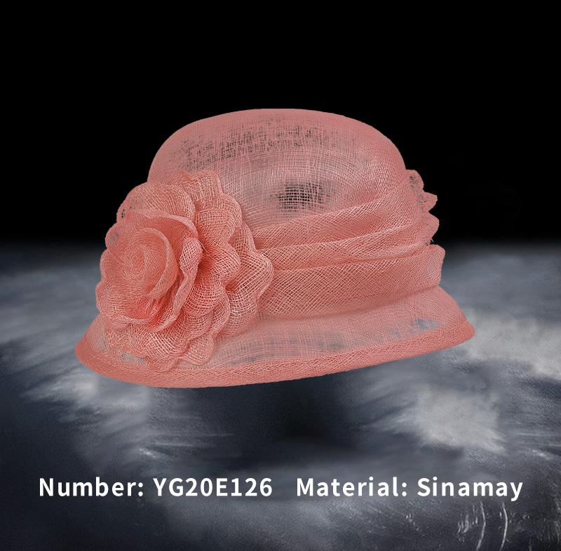 Hemp hat(YG20E126)
